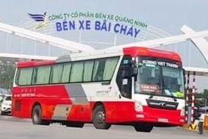 Quảng Ninh mở lại các tuyến xe khách liên tỉnh từ ngày 11/3
