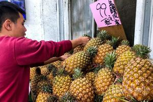 Bị Trung Quốc cấm vận, dứa Đài Loan đắt khách tại châu Á