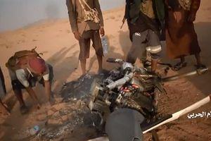 UAV Saudi bị bắn rơi ngay lần đầu tham chiến