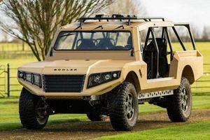Xe quân sự Bowler CSP RIV vạm vỡ, dựa trên khung gầm Land Rover