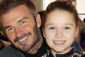 'Công chúa út' Harper nhà David Beckham gây bất ngờ với vẻ phổng phao dù mới gần 10 tuổi