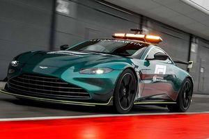 Aston Martin Vantage làm xe an toàn và y tế cho F1 2021