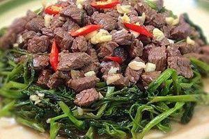 6 nhóm người không nên ăn thịt trâu kẻo hại thân
