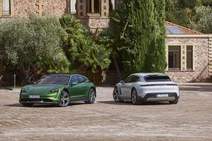 Porsche Taycan Cross Turismo về Việt Nam giá cao nhất 7,7 tỷ đồng