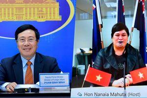 Việt Nam – New Zealand đẩy nhanh xây dựng chương trình hành động Đối tác Chiến lược