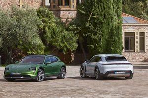 Xe thể thao điện Porsche Taycan Cross Turismo giá từ 5 tỷ đồng