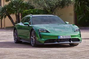 Porsche ra mắt biến thể Taycan Cross Turismo