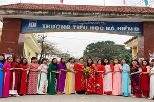 Vĩnh Phúc: Trường Tiểu học Bá Hiến B tích cực xây dựng 'Trường học hạnh phúc'