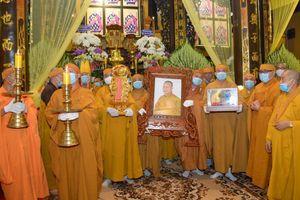 Lễ truy niệm, cung thỉnh kim quan Hòa thượng Thích Nhật Ấn nhập bảo tháp