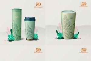 Starbucks ra mắt BST đặc biệt kỷ niệm 50 năm thành lập