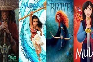 Điểm danh những nữ chiến binh nổi tiếng của nhà 'Chuột' Disney