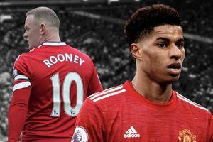 Rooney và những số 10 huyền thoại của Man Utd