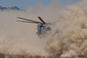 CH-53K sợ bụi Trung Đông