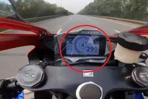 Tài xế mô tô chạy 299km/h trên Đại lộ Thăng Long có thể bị xử phạt ra sao?