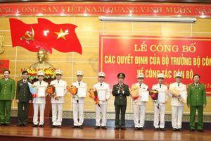 Điều động 7 lãnh đạo chủ chốt tại Công an tỉnh Quảng Bình