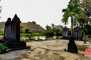 Lăng mộ đá hàng trăm năm tuổi ở thành phố Thanh Hóa