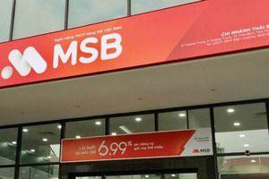 MSB bán xong 74,6 triệu cổ phiếu quỹ