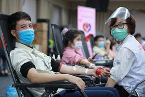 15,000 units of blood were donated through Blood for Vietnamese 2020