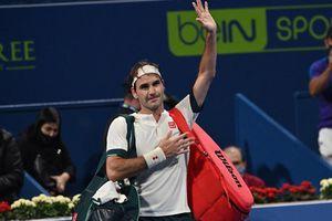Roger Federer bị loại khỏi Qatar Open chỉ sau 2 trận đấu