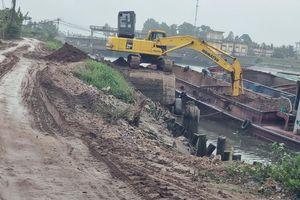 Dừng thi công công trình sai phạm tại cống Cổ Tiểu, Hải Phòng