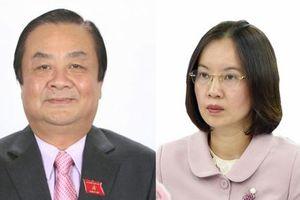 Bộ NN-PTNT giới thiệu 2 đồng chí ứng cử đại biểu Quốc hội Khóa XV