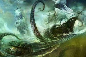 Kỳ lạ thủy quái khổng lồ chuyên săn đuổi thủy thủ