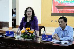 Thứ trưởng Ngô Thị Minh: Cần đầu tư xây dựng trường học có trọng tâm, trọng điểm