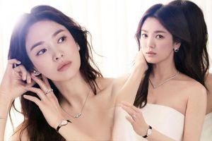 Song Hye Kyo khoe vai trần gợi cảm, nhan sắc cực phẩm dù đã bước sang tuổi 40