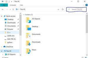 Cách sử dụng chức năng tìm kiếm file trên Windows 7/ 8/10