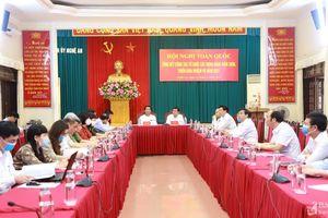 Ngành Tổ chức xây dựng Đảng triển khai nhiệm vụ năm 2021