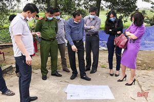 Thống nhất phương án bồi thường trang trại bị ảnh hưởng GPMB cao tốc Bắc - Nam qua Hà Tĩnh vào 27/3 tới