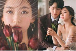 Sốc visual bộ ảnh 'rich kid xấc láo nhất Penthouse' Han Ji Hyun hồi làm mẫu váy cưới: Xinh điên đảo, ở ngoài khác hẳn trên phim