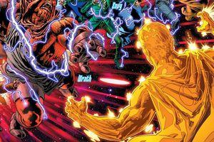 Vừa trở lại, Superman Prime One Million đã bị Thất Đại Tội đánh bại