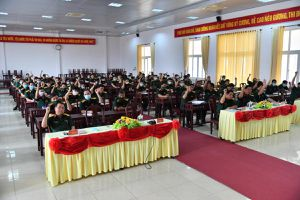 Bộ Chỉ huy quân sự tỉnh Kiên Giang giới thiệu 2 cán bộ ứng cử đại biểu HĐND