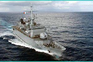 Uy lực hộ vệ hạm của Hải quân Pháp cập cảng Cam Ranh thăm Việt Nam
