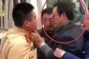 Chi cục trưởng say xỉn, túm áo CSGT ở Tuyên Quang bị kỷ luật cảnh cáo