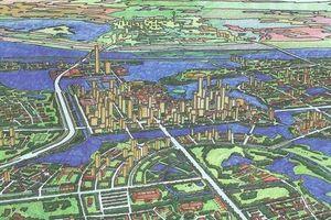 Các phương án quy hoạch sông Hồng trong những năm qua