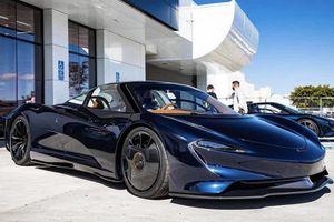 Hình ảnh đầu tiên của 'độc bản' McLaren Speedtail Hermès lộ diện