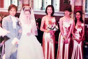 Kỷ niệm ngày thành hôn, 'Chúc Anh Đài' Lương Tiểu Băng đăng ảnh cưới năm 2000