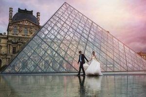 Mê mẩn khi ngắm nhìn những bức ảnh cưới kỳ công giữa thiên nhiên