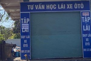 Lạ lùng kiểu đào tạo lái xe ô tô 'chui' tại Đắk Lắk