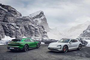Porsche Taycan Cross Turismo: Xe điện thể thao cho mọi địa hình