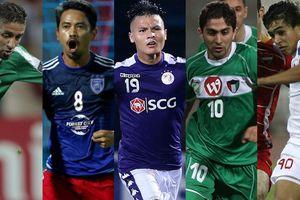 Quang Hải áp đảo ở bầu chọn 'Tiền vệ hay nhất lịch sử AFC Cup'