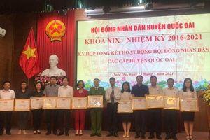 HĐND huyện Quốc Oai: Xứng đáng với niềm tin và kỳ vọng của cử tri