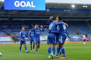 Thắng đậm Sheffield 5-0, Leicester lại lên ngôi nhì bảng