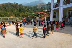 Điểm trường mầm non Pà Khà (Lai Châu): Chẳng kém miền xuôi