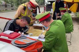 Phát hiện tài xế dương tính với ma túy trên cao tốc Hà Nội – Thái Nguyên
