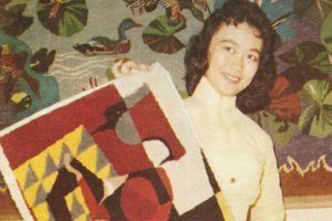 Nghề dệt thảm len bằng tay tinh xảo ở miền Nam xưa
