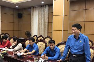 LĐLĐ tỉnh Nghệ An trao đổi, học tập kinh nghiệm tại LĐLĐ thành phố Hà Nội