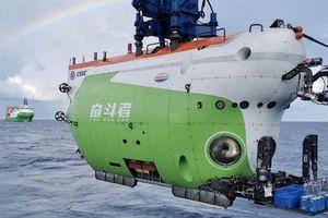 Trung Quốc chính thức bàn giao tàu lặn biển sâu Fendouzhe